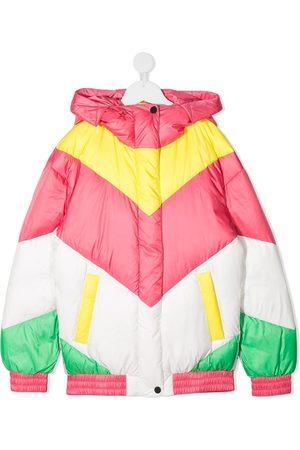 Perfect Moment Aspen chevron-print puffer jacket