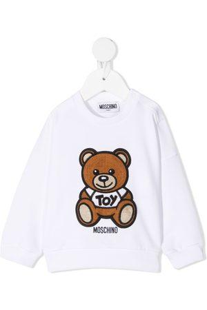 Moschino Bear logo patch sweatshirt