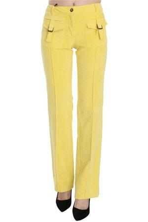 Roberto Cavalli Mid Waist Straight Pants