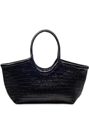 DRAGON DIFFUSION Big Nantucket Woven Leather Basket Bag