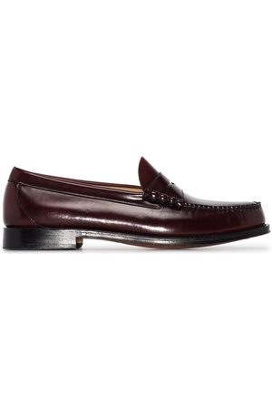 G.H. Bass Weejuns Larson moc penny loafers