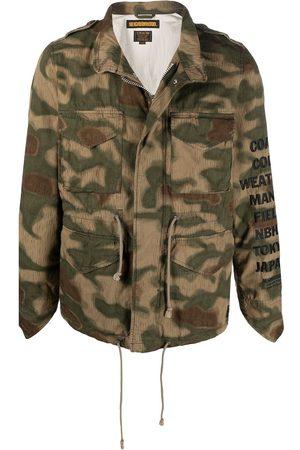 NEIGHBORHOOD M-65 camouflage print jacket