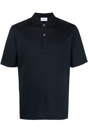 Salvatore Ferragamo Logo-embroidered polo shirt