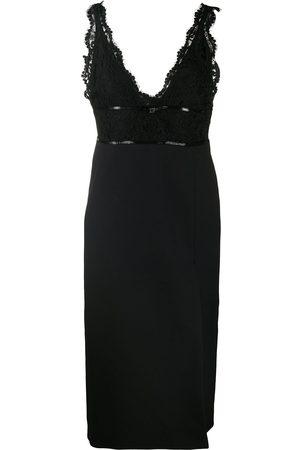 Gucci Lace V-neck dress