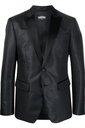 Dsquared2 Single-breasted embossed blazer