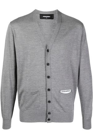 Dsquared2 Logo-patch cardigan