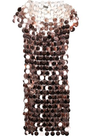 Paco rabanne Paillette-embellished mini dress