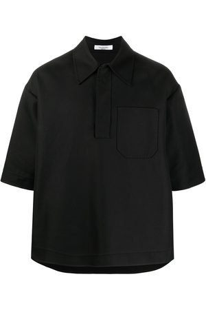 VALENTINO Double-faced cotton polo shirt