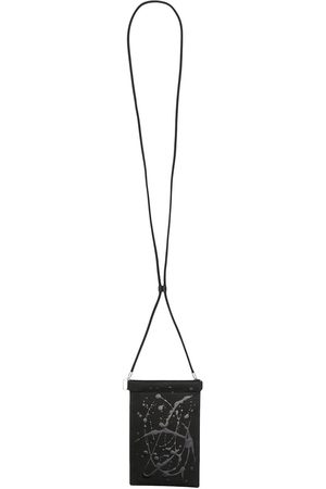 Maison Margiela Lanyard leather cardholder