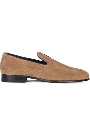 Giuseppe Zanotti G-flash suede slippers