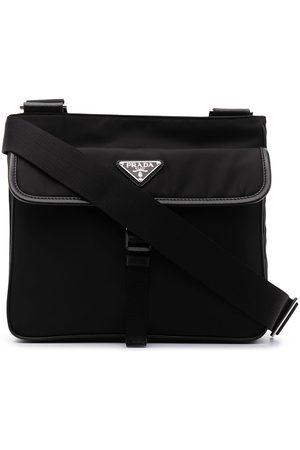 Prada Triangle-logo shoulder bag