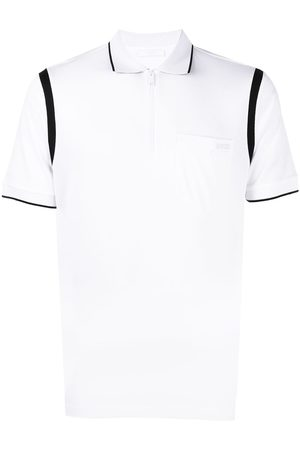 Prada Zip-fastening polo shirt