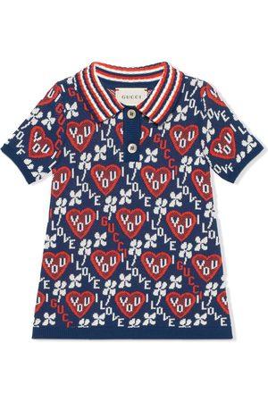 Gucci I Love You-pattern dress