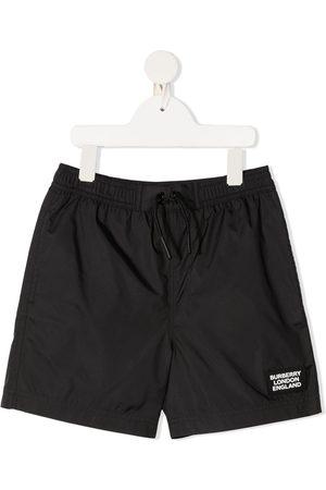 Burberry Drawstring swim shorts