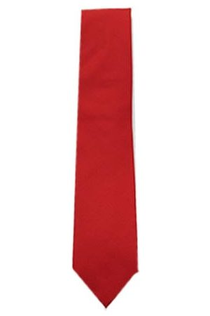 Profuomo Rode zijden stropdas