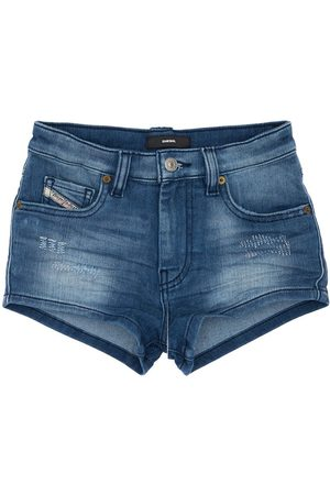 Diesel Distressed Effect Shorts