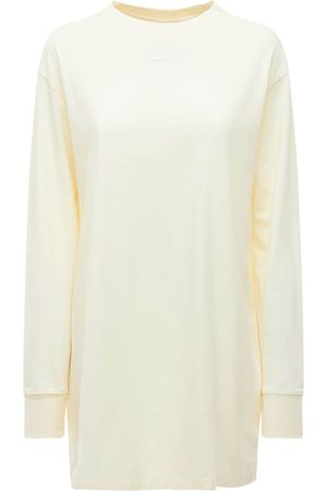 Nike Dames Rokken & Jurken - Cotton T-shirt Dress