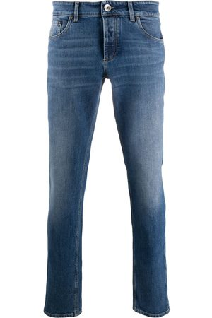 Brunello Cucinelli Mid-rise slim-fit jeans