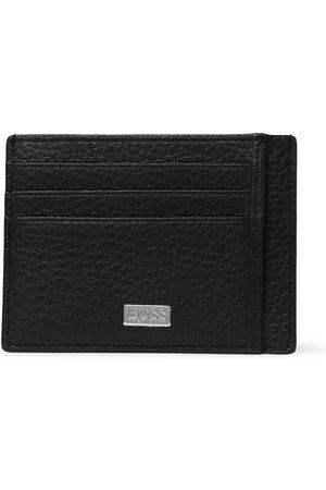 HUGO BOSS Heren Portemonnees - Crosstown Full-Grain Leather Cardholder
