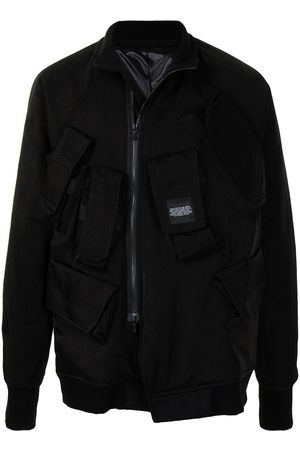 JULIUS Heren Bomberjacks - Logo patch jacket