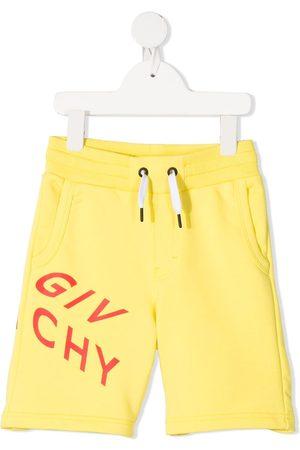 Givenchy Logo print drawstring shorts