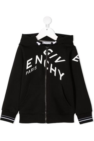 Givenchy Logo-print zip-up hoodie