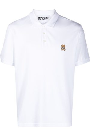 Moschino Teddy Bear embroidered polo shirt