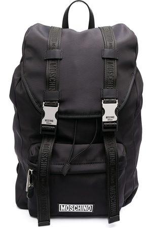 Moschino Heren Rugzakken - Logo buckle backpack