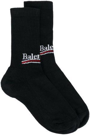 Balenciaga Bal logo socks