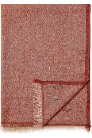 Ermenegildo Zegna Logo-embroidered scarf