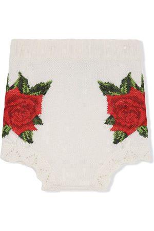 Dolce & Gabbana Cross-stitch design shorts