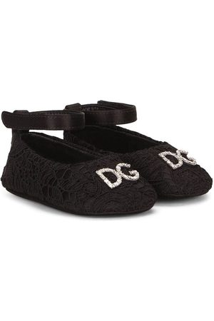 Dolce & Gabbana Logo-plaque ballerina shoes