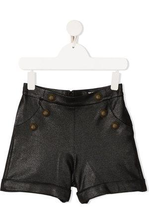 Balmain Glitter-effect shorts
