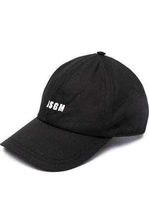 Msgm Embroidered logo cap