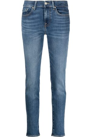 7 for all Mankind Dames Straight - High-rise straight-leg jeans