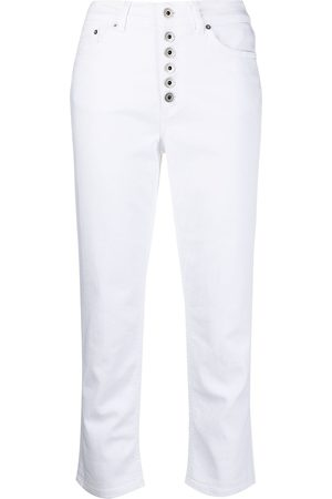 Dondup Cropped button-fly trousers