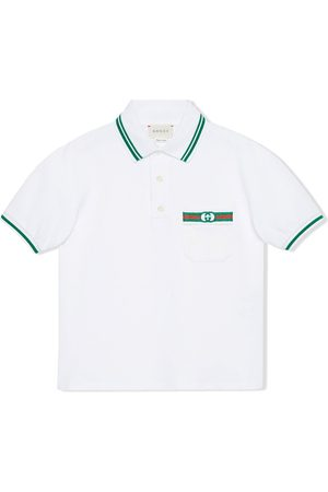 Gucci Web and Interlocking G polo shirt