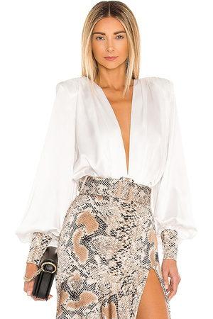 Bronx and Banco Dames Bodysuits - Leona Silk Bodysuit in