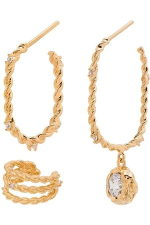 Joanna Laura Constantine Twisted style earring set