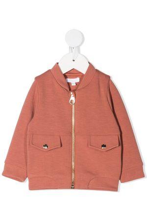 Chloé Bomberjacks - Logo-embellished jacket