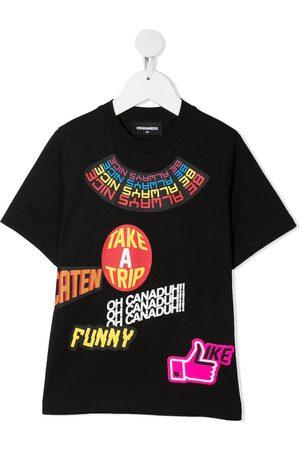 Dsquared2 Graphic-print cotton T-shirt