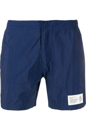 ELEVENTY Heren Shorts - Logo-patch swim shorts