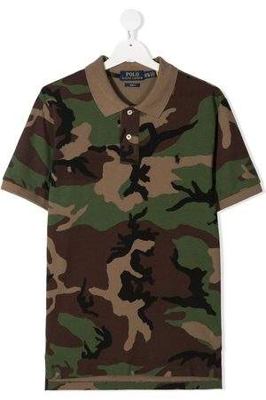Ralph Lauren Camouflage-print short-sleeve polo-shirt