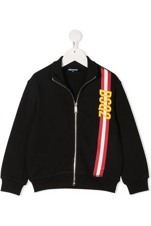 Dsquared2 Jongens Sweaters - Logo stripe sweatshirt
