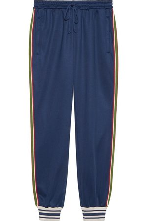 Gucci Web stripe-trim track pants