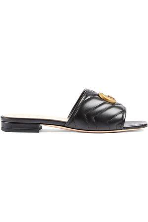 Gucci Marmont Double G slides