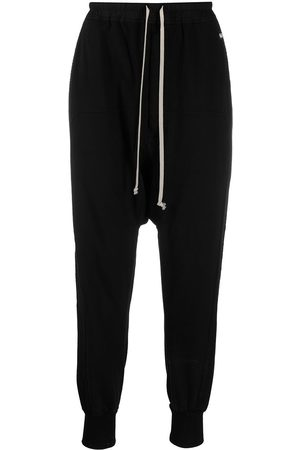 Rick Owens Logo patch detail track pants