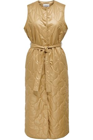 Only Long Quilted Waistcoat Dames