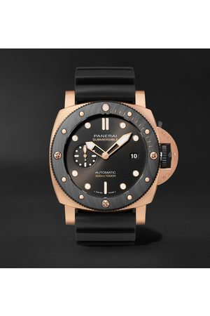 PANERAI Heren Horloges - Submersible OroCarbo Automatic 44mm Goldtech and Rubber Watch, Ref. No. PAM01070
