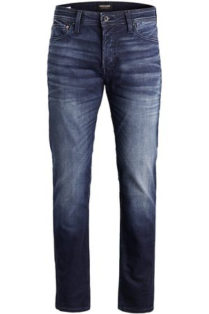 Jack & Jones Mike Original Jos 597 Indigo Knit Comfort Fit Jeans Heren Blauw